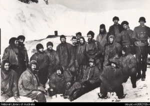 nla.pic-vn3082159 The members who remained behind at Elephant Island